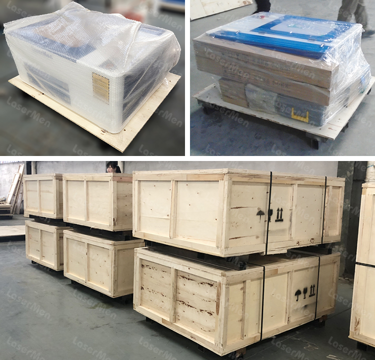 packing of co2 laser machine