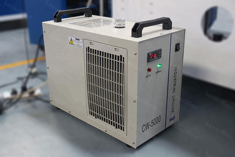 CW-5200 water chiller of co2 hybrid laser cutting machine