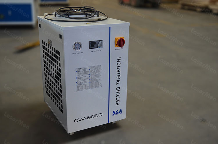 CW-6000 water chiller of co2 hybrid laser cutting machine